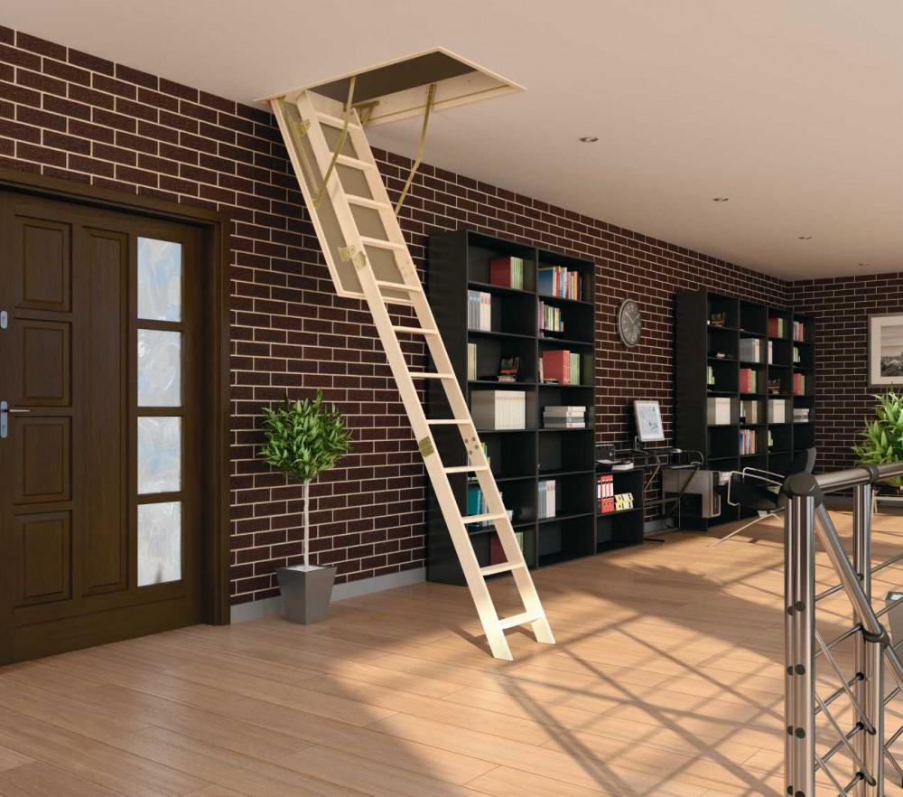 Фото лестница на чердак
